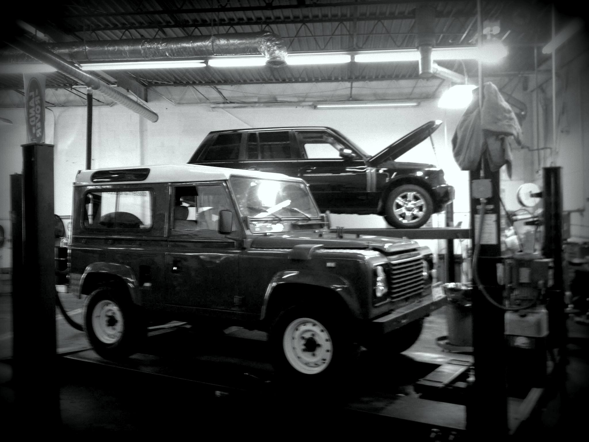 Range rover service alexandria va land rover service for Mercedes benz collision center alexandria va